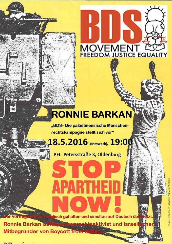 Streit um BDS –  Boykott BDS-Aktivist bekommt Recht vor Gericht