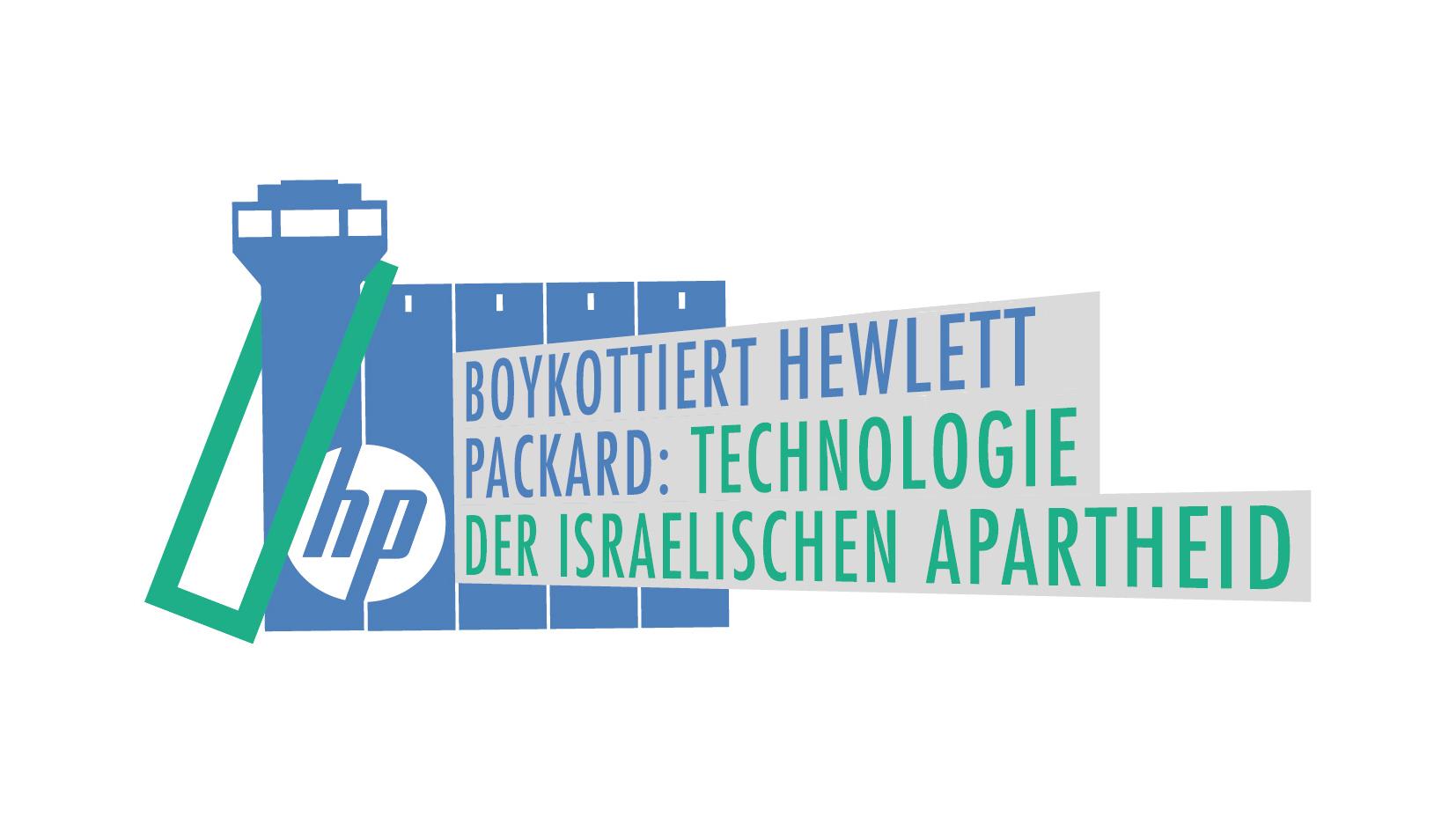 Berlin: 7. Juni 2017 Protestaktion gegen die Geschäfte von Hewlett Packard
