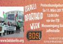 Israeli Apartheid Week – Protestkundgebung vor der ITB