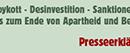 Presseerklärung BDS Schweiz – Angriff auf NGOs in Israel/Palästina scheitert im Ständerat