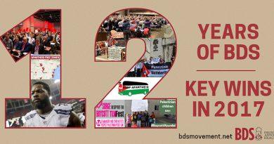 12 Jahre BDS-Bewegung: Weltweite Erfolge!