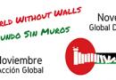 BDS Berlin beteiligt sich am weltweiten Aktionstag für eine Welt ohne Mauern