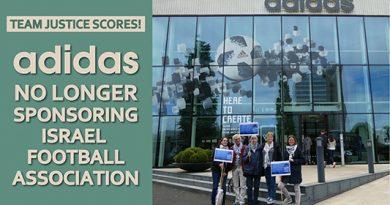 Team Gerechtigkeit trifft! Adidas unterstützt nicht länger den israelischen Fußballverband