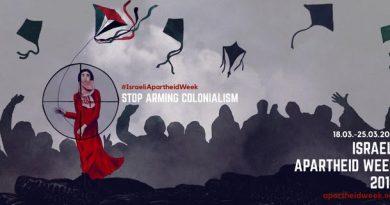 Veranstaltungen im Rahmen der 'Israeli Apartheid Week'