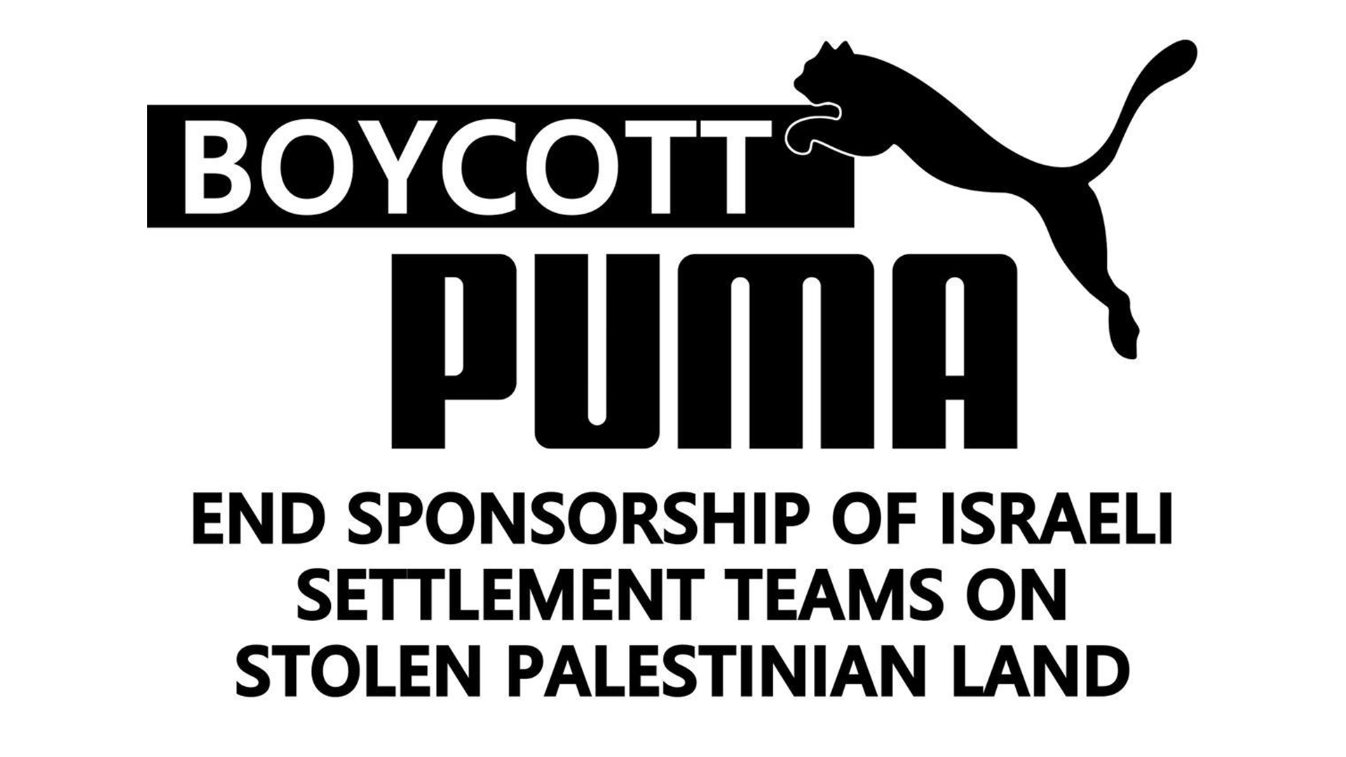 Boykottiert PUMA