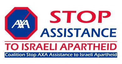 Mittwoch, 17. April 2019: Aufruf zu Aktionen vor AXA-Niederlassungen