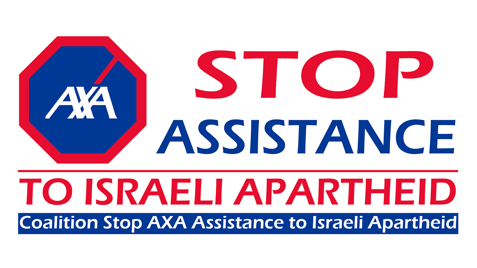 AXA Stop assistance to Israeli Apartheid