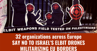 Europäische Zivilgesellschaft gegen EU-Einsatz der Killerdrohnen von Elbit Systems