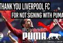 Der FC Liverpool entscheidet sich für Nike – nicht für Puma!