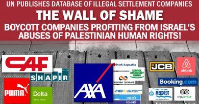 Veröffentlichung der lange aufgeschobenen UN-Datenbank bezüglich der israelischen Siedlungen ist ein wichtiger Schritt, um Israel zur Verantwortung zu ziehen
