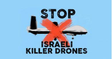 Petition: Nein zu israelischen Killerdrohnen zur Kontrolle der europäischen Grenzen