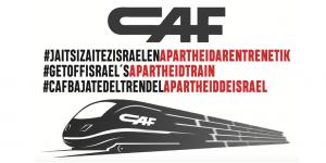 Fordert CAF vor seiner Jahreshauptversammlung auf, aus dem israelischen Apartheid-Zug auszusteigen!