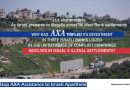 AXA trägt zur Aufrechterhaltung der israelischen Apartheid bei – Protestaktion vor der AXA Konzern AG in Berlin