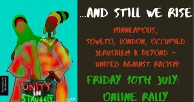 And Still We Rise! UNITED AGAINST RACISM RALLY