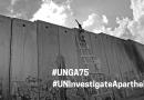 Globale Zivilgesellschaft fordert UN-Generalversammlung zur Untersuchung der israelischen Apartheid auf