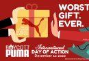 4. weltweiter #BoycottPuma-Aktionstag – Rückblick