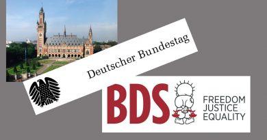Kriminalisierungsversuche des Deutschen Bundestags, das Grundgesetz und die BDS-Bewegung