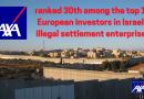 AXA wird wegen seiner Komplizenschaft bei der israelischen Apartheid genau beobachtet